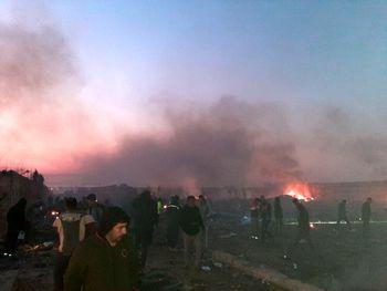 دومین گزارش سانحه سقوط هواپیمای اوکراینی/ دو موشک TOR_M1 شلیک شد/ هواپیما در زمان سقوط  در مسیر بازگشت به فرودگاه بود