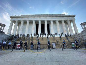 هزینه میلیون دلاری گارد ملی آمریکا برای مقابله با اعتراضات