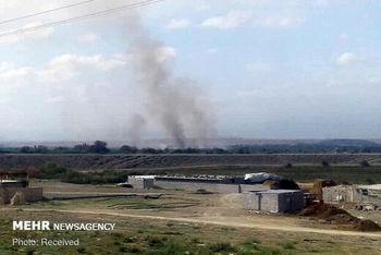 اصابت ۲۰ خمپاره به روستاهای ایران درپی تشدید جنگ در قره باغ