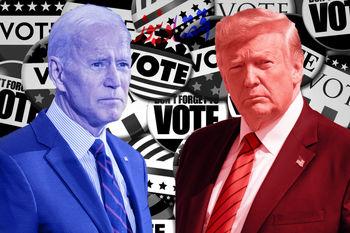 آخرین نظرسنجیها حاکی از برتری بایدن است یا ترامپ؟