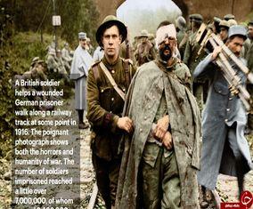تصاویر رنگی از جنگ جهانی اول که تا کنون ندیده اید
