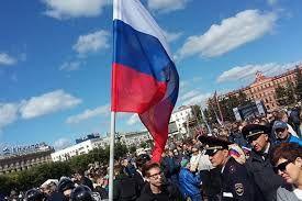 آلمان برخورد با اعتراضهای روسیه را محکوم کرد