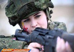 تصاویری از زنان نظامی در ارتش روسیه