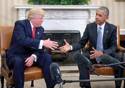 واکنش ترامپ به تهدید جان اوباما
