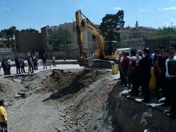 در مراسم کلنگزنی احداث ساختمان پلاسکو چه گذشت؟+ عکس