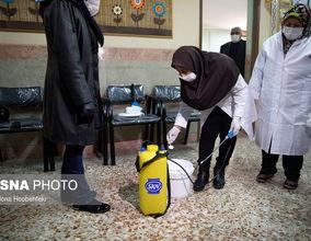 ضدعفونی کردن مدارس تهران برای مقابله با کروناویروس