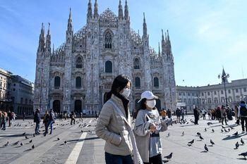 رشد قربانیان کرونا در ایتالیا
