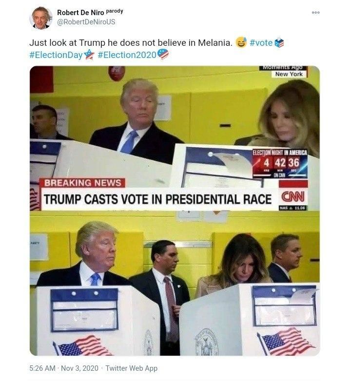 عدم اعتماد ترامپ به همسرش پای صندوق رای