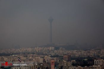 افزایش غلظت آلایندههای جوی در شهر صنعتی و پرجمعیت طی سه روز آینده