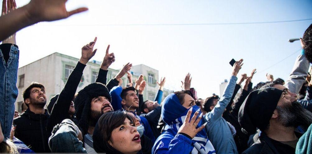 پایان تجمع هواداران ناراضی استقلال با دخالت پلیس ضد شورش