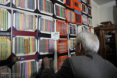 کلکسیونر ایرانی مداد رنگی