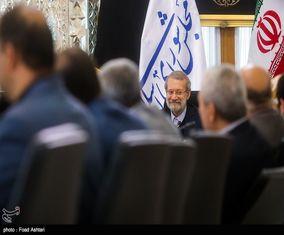 دیدار اعضای شورای شهر تهران با رئیس مجلس