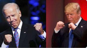 ادعای ترامپ در صورت پیروزی بایدن +عکس