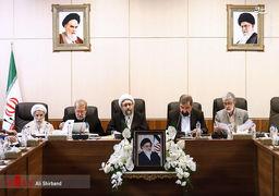 تصاویر اولین جلسه مجمع تشخیص به ریاست آملی لاریجانی