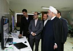 روحانی با حضور در وزارت تعاون از سامانه مرتبط با شفافیت و مبارزه با فساد رونمایی کرد