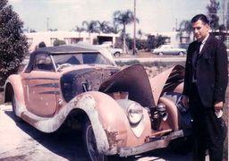 تصاویری از خودروی لاکچری محمدرضا پهلوی/سرنوشت آن چه شد؟