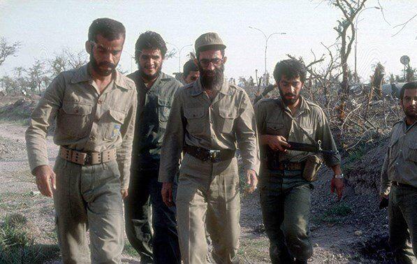 امام خامنهای , دفاع مقدس ,