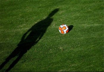 خوشحالی عجیب فوتبالیست ایرانی بعد از گلزنی +عکس