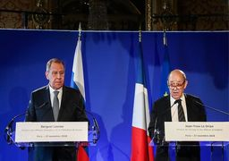 لاوروف: روسیه و فرانسه درباره برجام موضع یکسانی دارند/ لودریان: حل مسائل بینالمللی بدون روسیه غیرممکن است