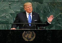 ترامپ در سازمان ملل مدعی شد؛ برجام موهبتی باد آورده برای ایران بود / ایران آشوب را در فراتر از خاورمیانه گسترش می دهد