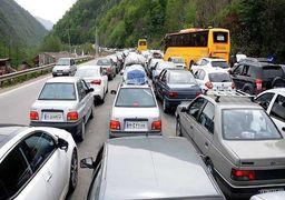 ترافیک پرحجم در محورهای مازندران
