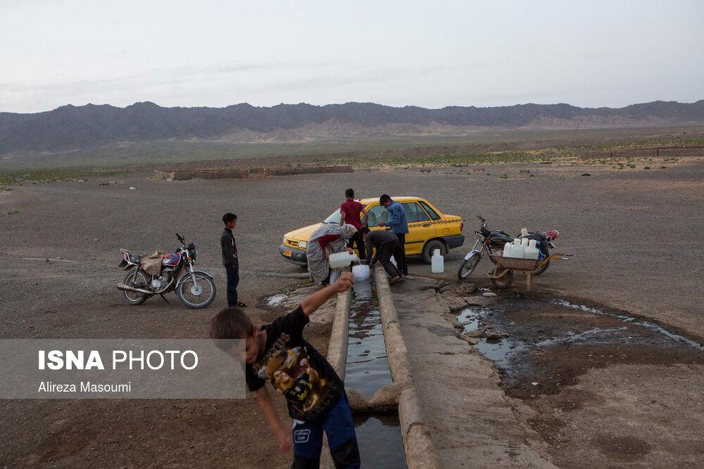 تصاویر: بیآبی در روستای بشیرآباد