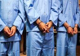 دستگیری ۷ گانگستر در تهران