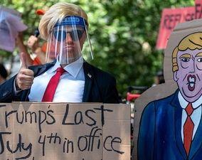 تصاویر دور جدید اعتراضات آمریکا