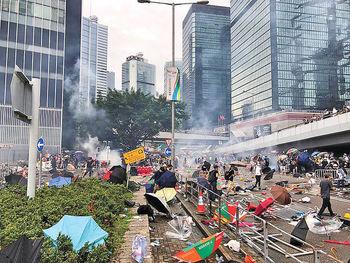 روز آتش و خشم در هنگکنگ