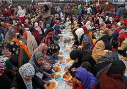 اعتراضات اخیر هندیها/تظاهرات به صرف بریانی+ گزارش تصویری