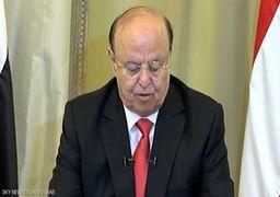منصور هادی: حوثیها به نفع ایران و حزبالله فعالیت میکنند