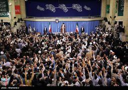 دیدار اقشار مختلف مردم با رهبر معظم انقلاب