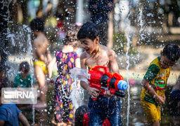 تصاویر جذاب مراسم آبتنی کودکان اصفهانی