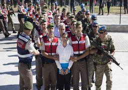 حکم بازداشت بیش از 200 نظامی ترکیه صادر شد