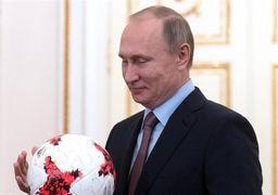 چرخش ورزشی ولادمیر پوتین