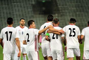 مصاف دوستانه تیم ملی فوتبال ایران با یک حریف اروپایی