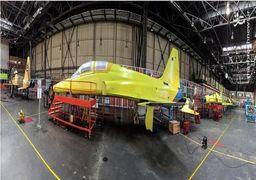 تصاویر خط تولید جت جنگنده کوثر