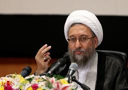 آیتالله آملی لاریجانی: یک آقایی در چند دقیقه 50 حرف خلاف واقع علیه قوه قضاییه زد