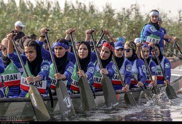 مسابقات «دراگون بوت» بانوان گیلان انتخابی تیم ملی(عکس-مجتبی محمدی)