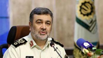 واکنش رئیس پلیس به ارسال پیامکهای حجاب