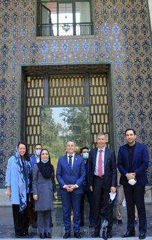 وزیر امور خارجه سوییس در کاخ نیاوران + عکس