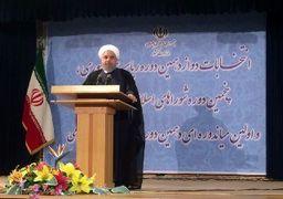 روحانی پس از ثبت نام : از نیمه راه باز نمی گردیم