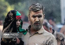 تصاویر مراسم «گلمالی» لرستانیها در خرمآباد و تهران