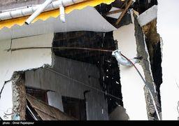 گزارش تصویری از خسارات ناشی رانش زمین در روستای لیلیم املش گیلان