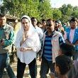 دیدار «آنجلینا جولی» با مسلمانان روهینگیا
