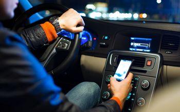 ردیابی تماس با موبایل هنگام رانندگی