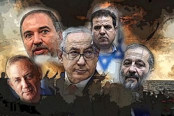 پیشتازی ائتلاف چپها در میانه دعوای نتانیاهو و گانتز