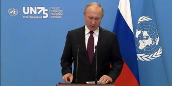 هشدارهای پوتین از تریبون سازمان ملل
