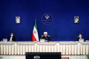 پیام روحانی به آمریکا: می خواهی توطئه کنی اما نمی توانی/ در شرایط جنگ هستیم