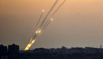 حمله موشکی به پایتخت اسرائیل